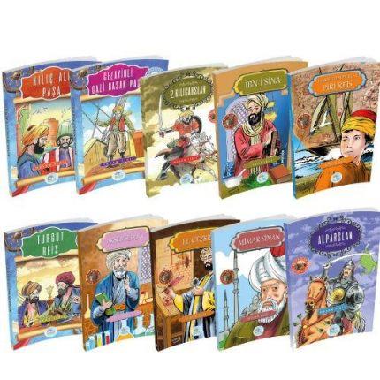 Çocuklar İçin Biyografi Serisi 10lu Set-2 Maviçatı Yayınları