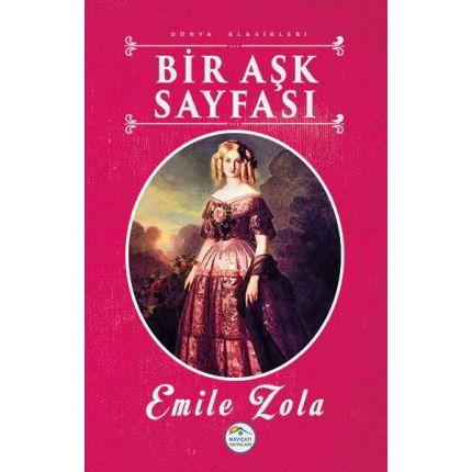 Bir Aşk Sayfası - Emile Zola - Maviçatı Yayınları