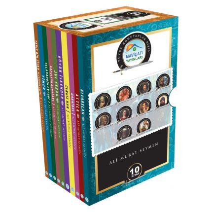 Büyük Komutanlar Seti 10 Kitap Maviçatı Yayınları