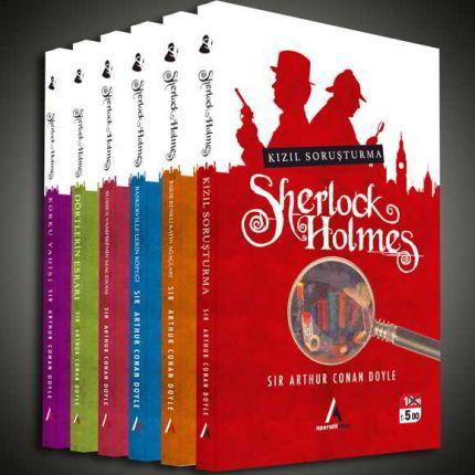 Sherlock Holmes Seti 6 Kitap Aperatif Kitap