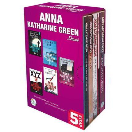 Anna Katharine Green Serisi 5 Kitap Seti Maviçatı Yayınları