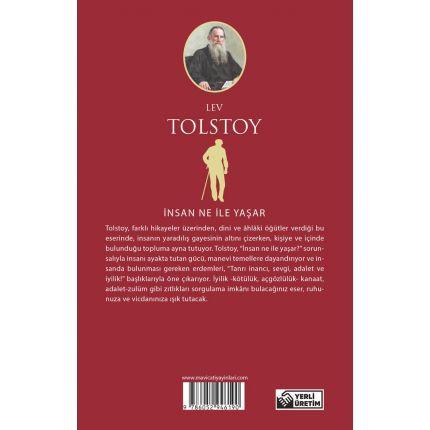 İnsan Ne İle Yaşar - Tolstoy - Maviçatı Yayınları