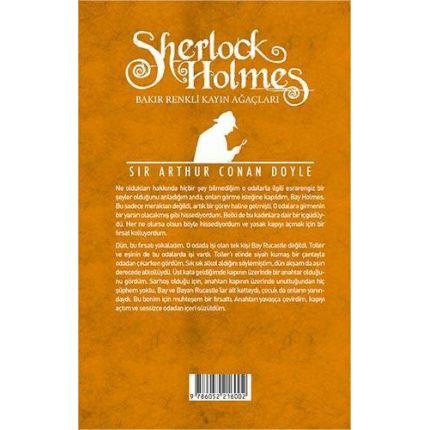 Bakır Renkli Kayın Ağaçları (Sherlock Holmes)