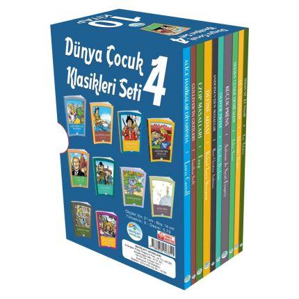 Dünya Çocuk Klasikleri 10 Kitap Seti-4 Maviçatı Yayınları