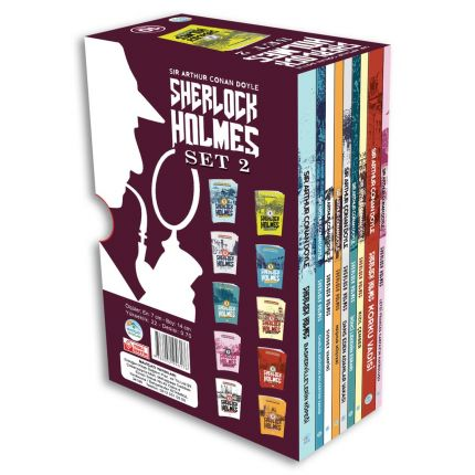 Sherlock Holmes Serisi 10 Kitap Seti -2 Maviçatı Yayınları