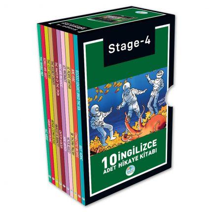 Stage-4 İngilizce Hikaye Seti 10 Kitap Maviçatı Yayınları