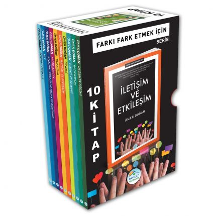 Farkı Fark Etmek Kişisel Gelişim Seti 10 Kitap Maviçatı Yayınları