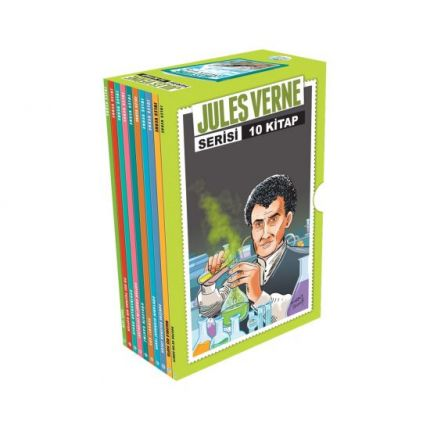 Jules Verne Serisi 10 Kitap Seti Maviçatı Yayınları